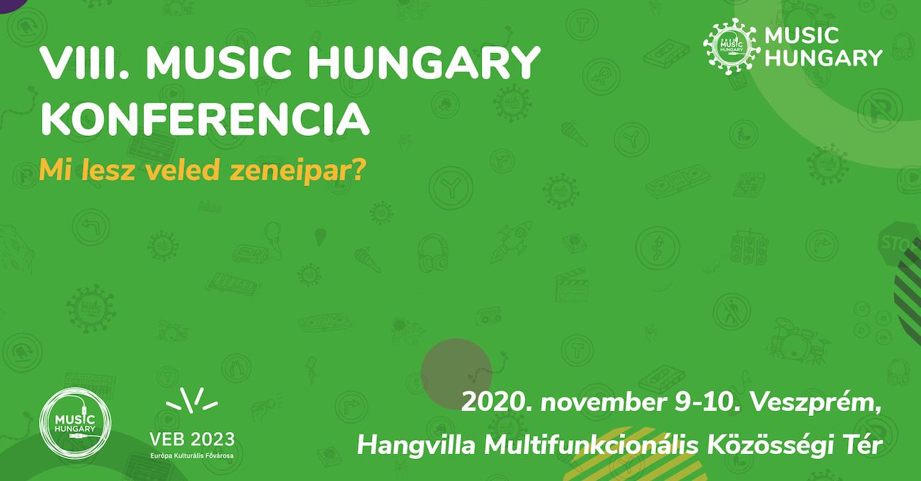 Music Hungary Konferencia 2020. közlemény borítókép
